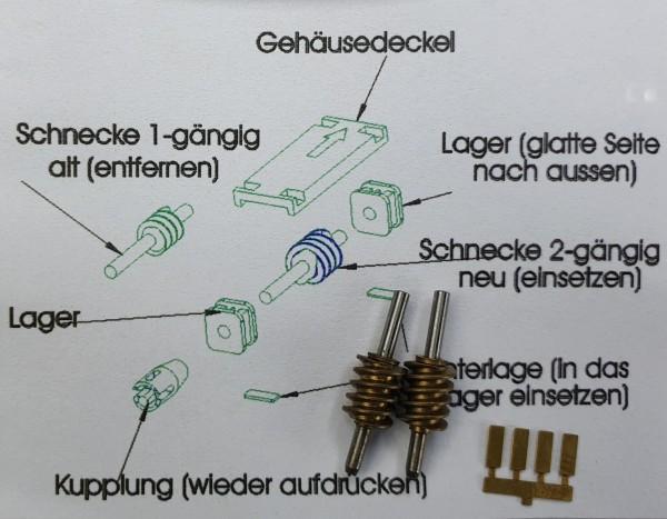 Getriebeumbausatz SVT 175 / VT 18