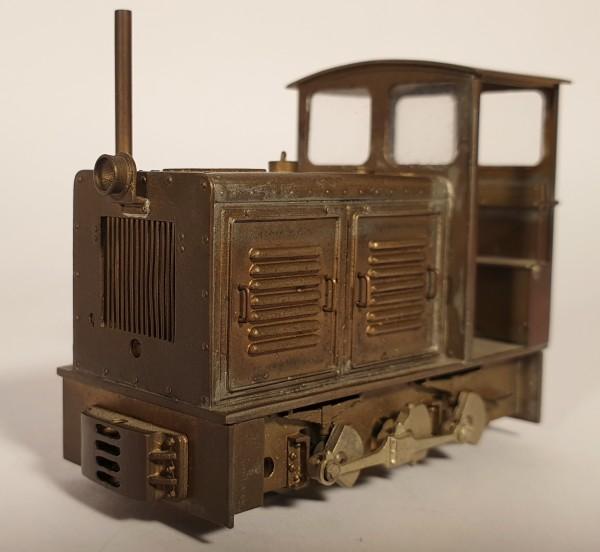 Diesellok der Baureihe Ns 2 grau rot Nr. 24